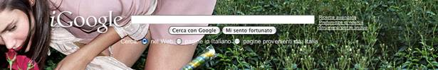 Il tema d'artista di Stella McCartney per iGoogle
