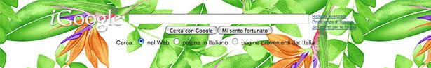 Il tema d'artista di Diane Von Furstenberg per iGoogle