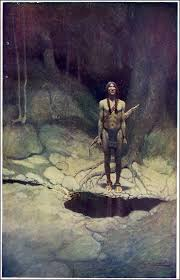 http://commons.wikimedia.org/wiki/File:NC_Wyeth_the_Indian_in_his_Solitude_1.png