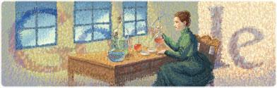 144° anniversario della nascita di Marie Curie
