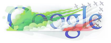 Google Logo: Festa della Repubblica - Italy 2011 Republic Day