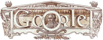 Google Logo: Giorgio Vasari's 500th birthday - Italian painter, writer, historian and architect