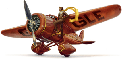 Google su Amelia Earhart