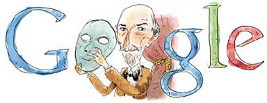 Google Logo: Luigi Pirandello's 145th birthday, Italian Nobel Prize in Literature