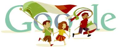 Google Logo: Republic Day in Italy - 2012