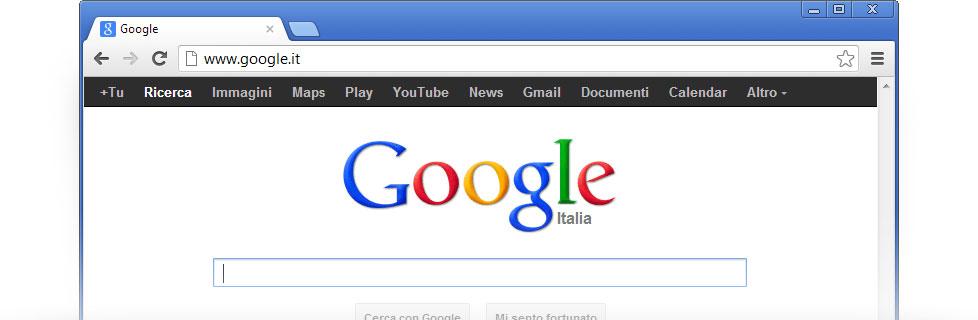 Imposta google come pagina iniziale google - Bloccare apertura finestre chrome ...
