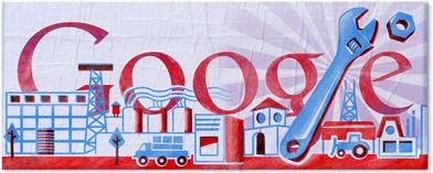 Logo google per il primo maggio