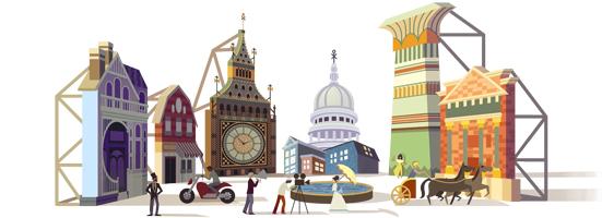 Cinecittà Doodle in Inghilterra e non in Italia