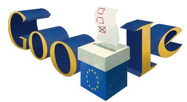 Elezioni Europee 2014 Google Doodle