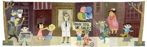 100° anniversario della nascita di Jonas Salk
