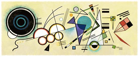 148° anniversario della nascita di Wassily Kandinsky