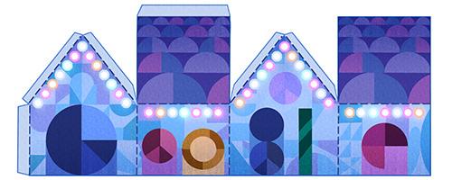 Papercraft, il doodle della Vigilia di Natale 2015