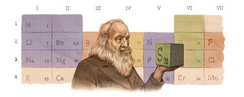 Dmitrij Mendeleev Doodle Google Oggi 8 febbraio 2016