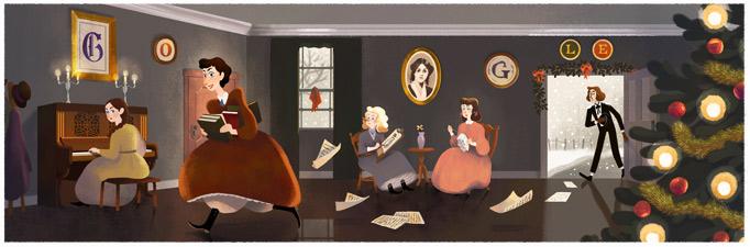 184° anniversario della nascita di Louisa May Alcott