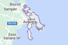 Mappa di: Augusta Italia