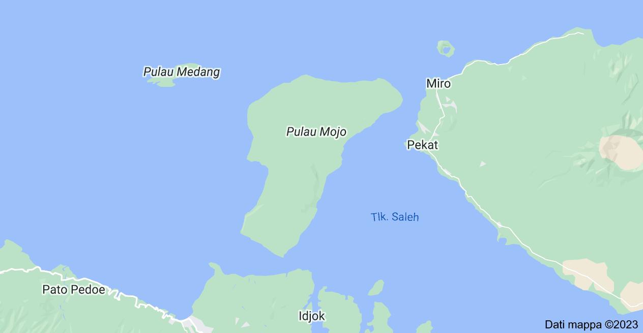 Mappa di: Mojo Island, Labuhan Badas, Sumbawa Regency, Nusa Tenggara Occidentale, Indonesia