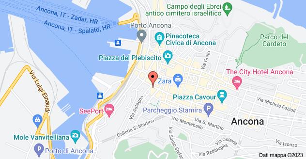 Mappa di: Corso Stamira, 16, 60122 Ancona AN