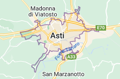Mappa di: Asti Italia