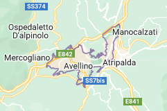 Mappa di: Avellino Italia