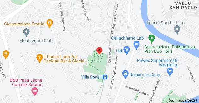 Mappa di: Via Domenico Lupatelli, 7, 00149 Roma RM