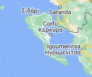 Mappa di: Corfù