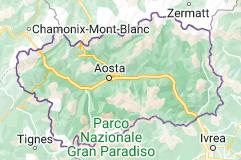 Mappa di: Valle d'Aosta