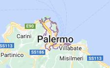 Mappa di: Palermo Italia