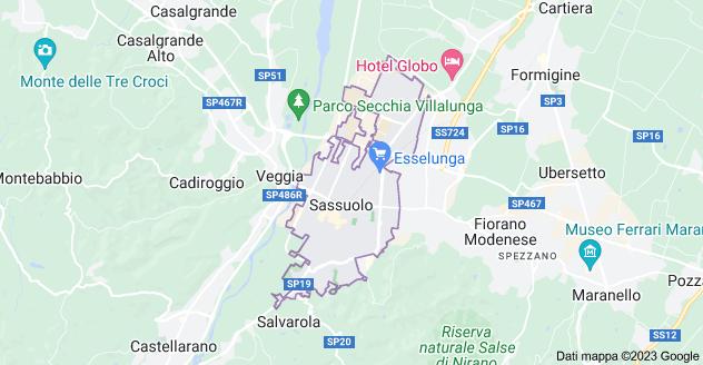 Mappa di: 41049 Sassuolo MO