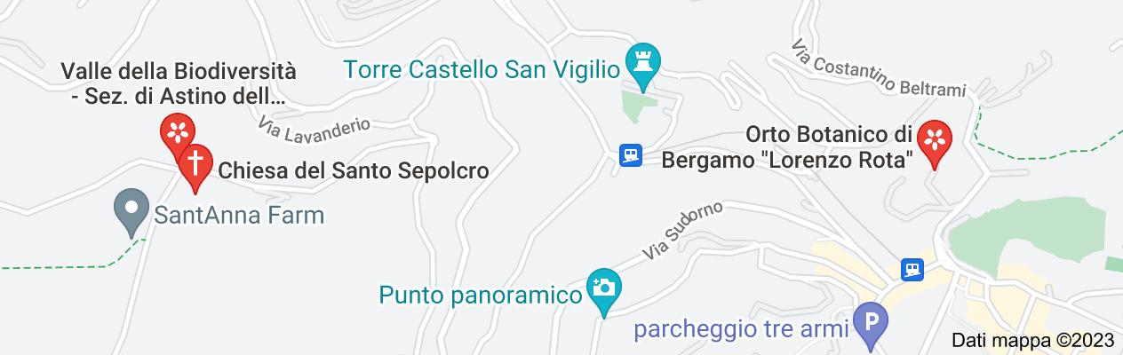 Mappa di: orto botanico Astino