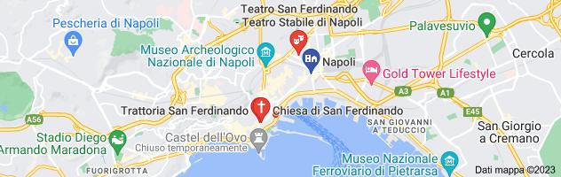 Mappa di: zona di san ferdinando napoli
