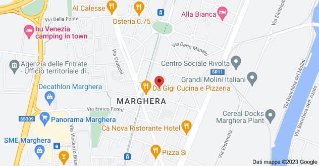 Mappa di: Via Marcantonio Bragadin, 40, 30175 Venezia VE