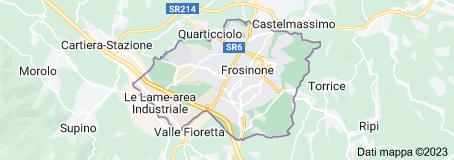 Mappa di: Frosinone Italia