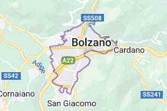 Mappa di: Bolzano Italia