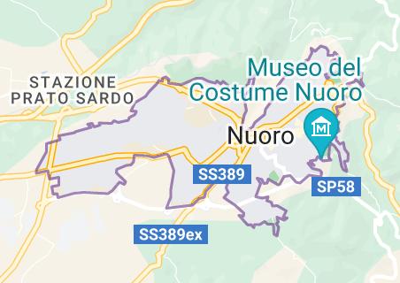 Mappa di: Nuoro Italia