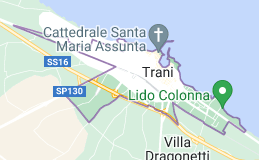 Mappa di: Trani Italia