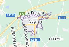Mappa di: Voghera Italia
