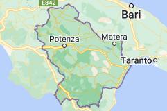Mappa di: Basilicata