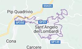 Mappa di: Sant'Angelo dei Lombardi Italia