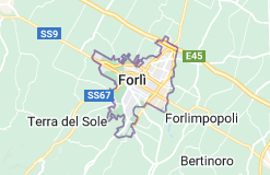 Mappa di: Forlì Italia