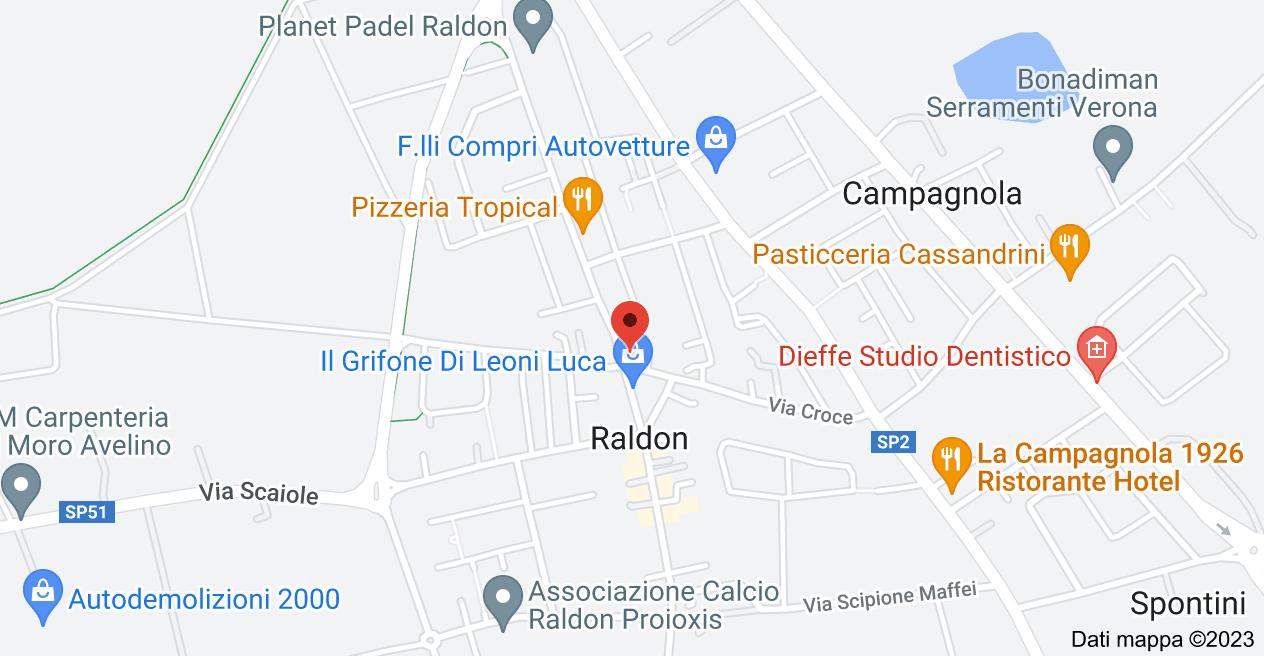 Mappa di: Via Croce, 1, 37057 Raldon VR