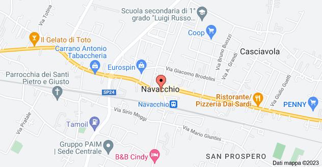 Mappa di: Largo Pietro Gori, 2, 56023 Cascina PI