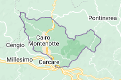 Mappa di: Cairo Montenotte Italia