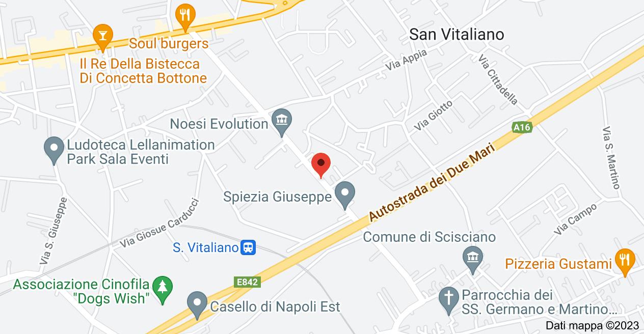 Mappa di: Corso Frascatoli, 91, 80030 San Vitaliano NA