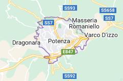 Mappa di: Potenza Italia