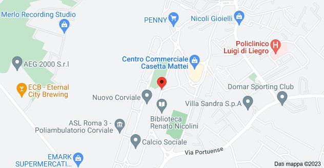 Mappa di: Via Marino Mazzacurati, 73, 00148 Roma RM